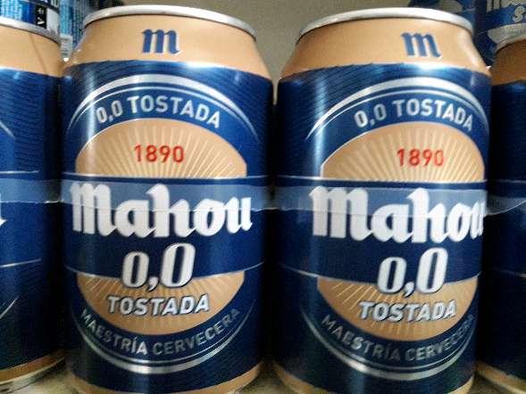Imagen Mahou 0.0 Tostada