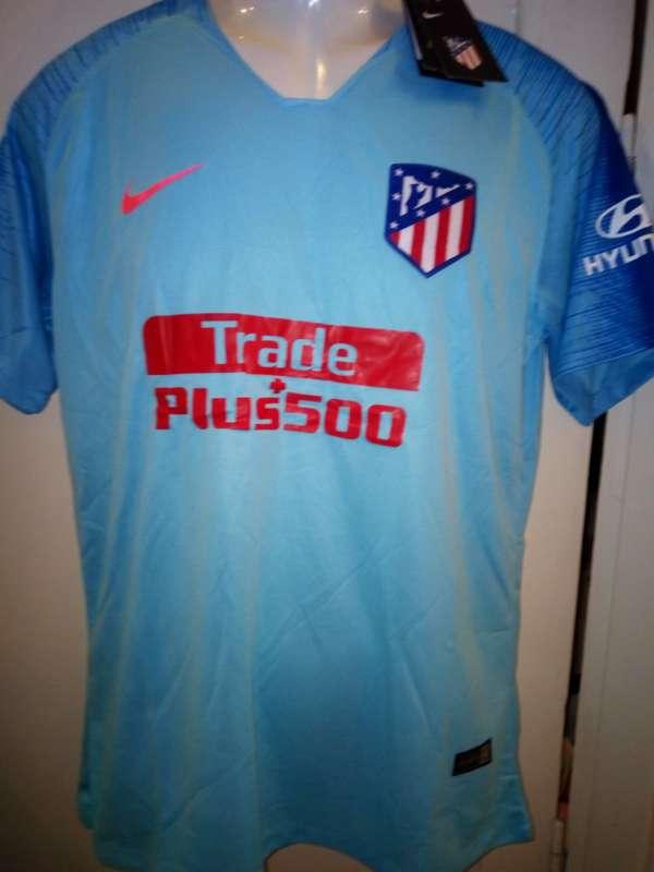 Imagen producto Camisetas 2019 Atlético de Madrid azules  2