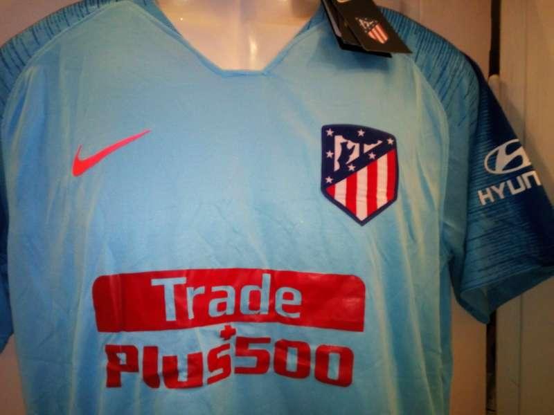 Imagen producto Camisetas 2019 Atlético de Madrid azules  4