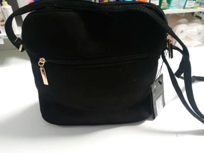 Imagen producto Bolso nuevo de tienda negro con detalles etnicos 2