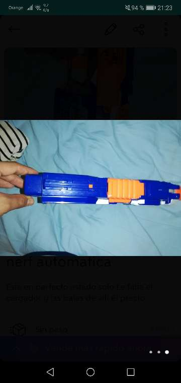Imagen producto Nerf automatica 3