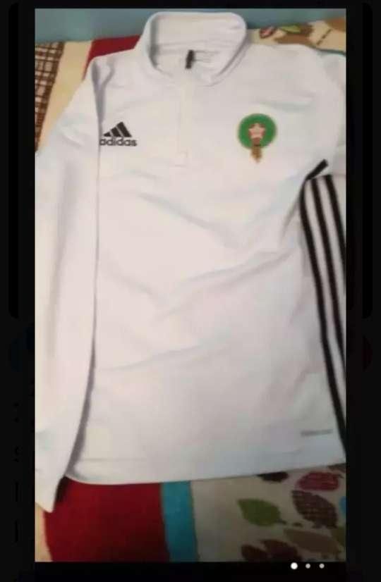 Imagen sudadera selección de Marruecos nueva color blanco