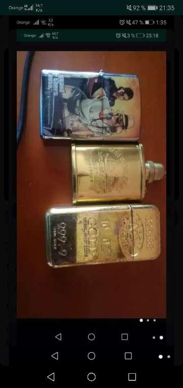 Imagen producto 4 mecheros ZIPPO, NEW ORLEANS, 10 07 Gold y gta 1