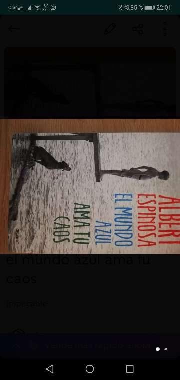 Imagen Libro el mundo azul ama tu caos