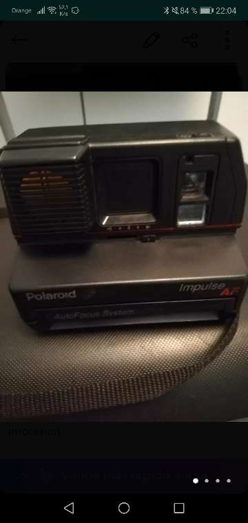 Imagen producto Camara Polaroid impulse con impresión de fotos 3