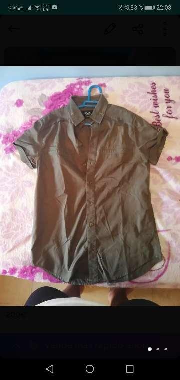 Imagen camisa dolce y gabbana original talla L