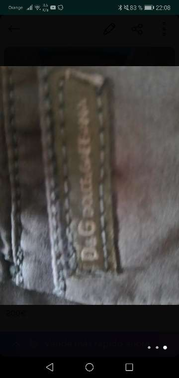 Imagen producto Camisa dolce y gabbana original talla L 2