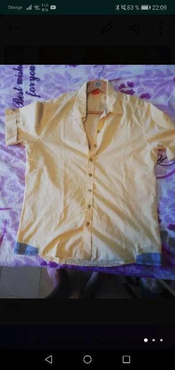 Imagen camisa Hugo boss original