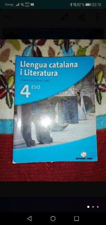 Imagen lengua catalana I literatura 4eso