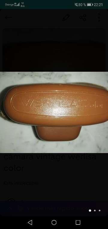 Imagen producto Cámara vintage werlisa color 1