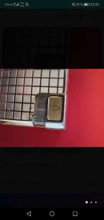 Imagen producto Mechero flaminaire 1