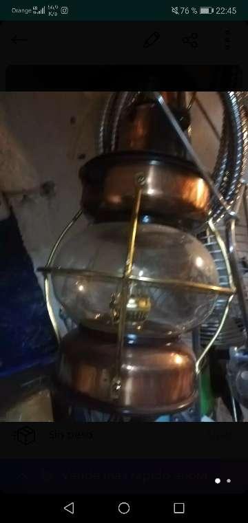 Imagen producto Lámpara vintage a gas 1