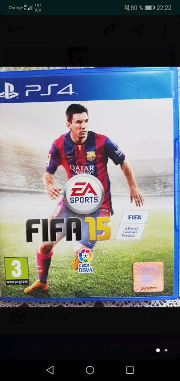 Imagen Fifa 2015 para play 4