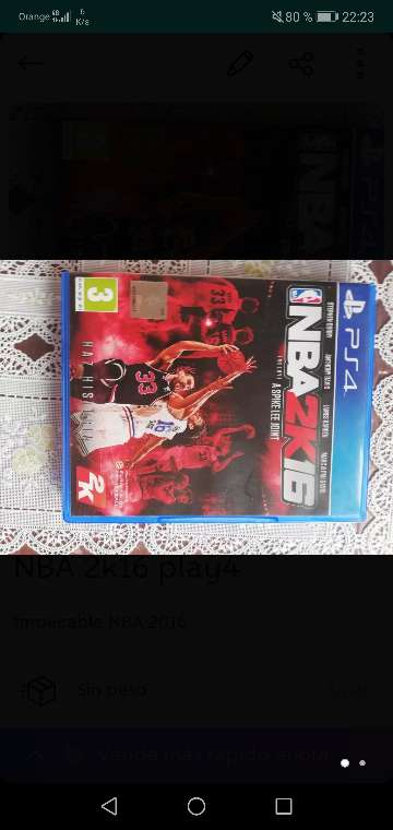 Imagen NBA 2k16 para play 4