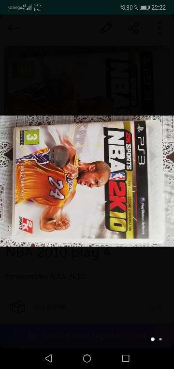 Imagen NBA 2k10 play 3
