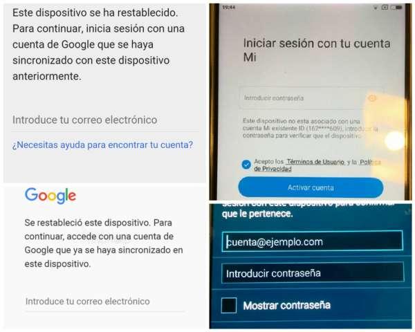 Imagen Reparacion Bloqueo google mi account