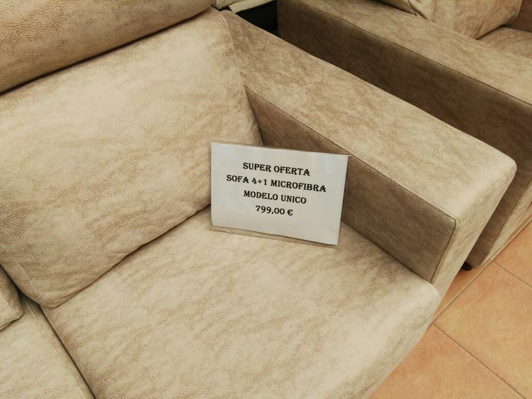 Imagen sofa unico 4+1