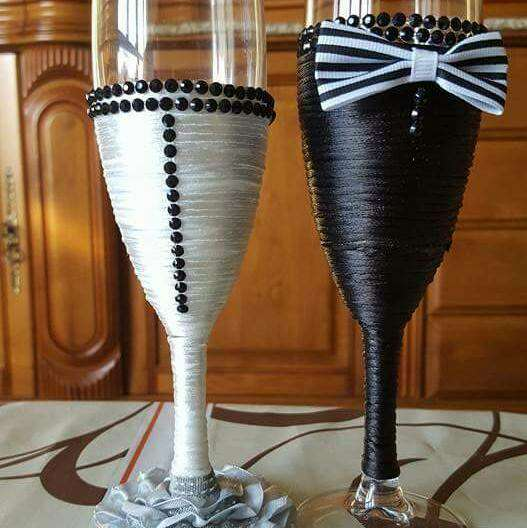 Imagen copas decoradas