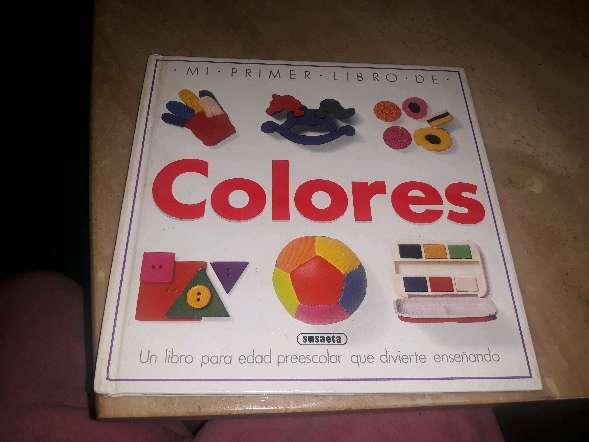 Imagen mi primer libro  de colores