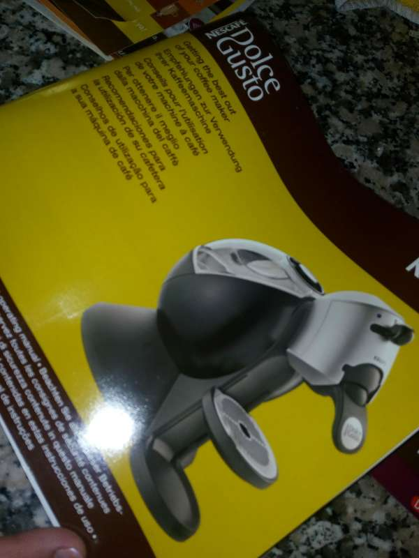 Imagen producto Cafetera dolce gusto 2