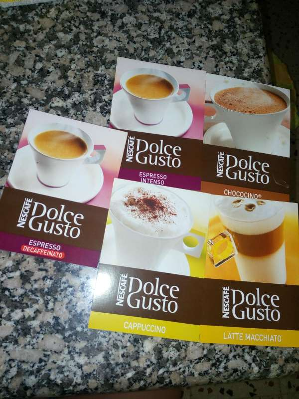 Imagen producto Cafetera dolce gusto 3