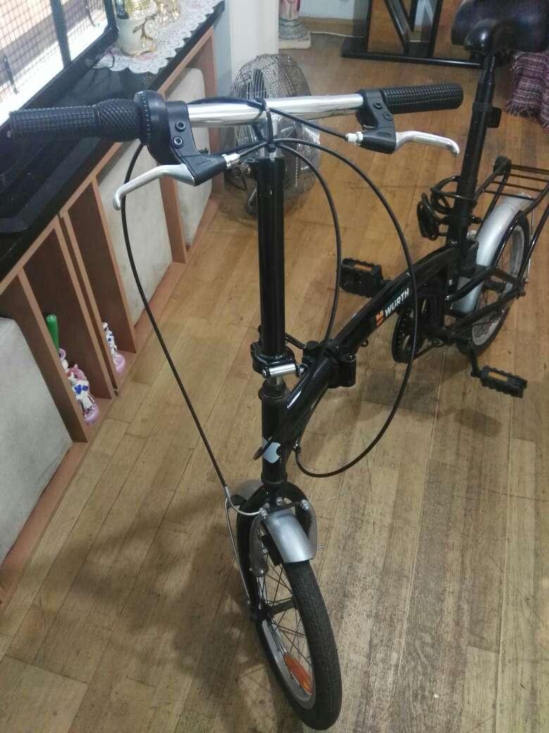 Imagen Bicicleta plegable marca würth