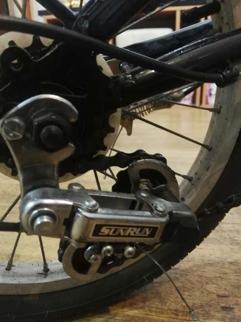 Imagen producto Bicicleta plegable marca würth 6