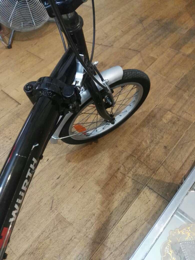 Imagen producto Bicicleta plegable marca würth 8