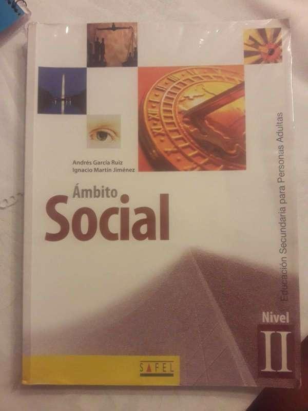 Imagen Libro de Ámbito social Nivel 2