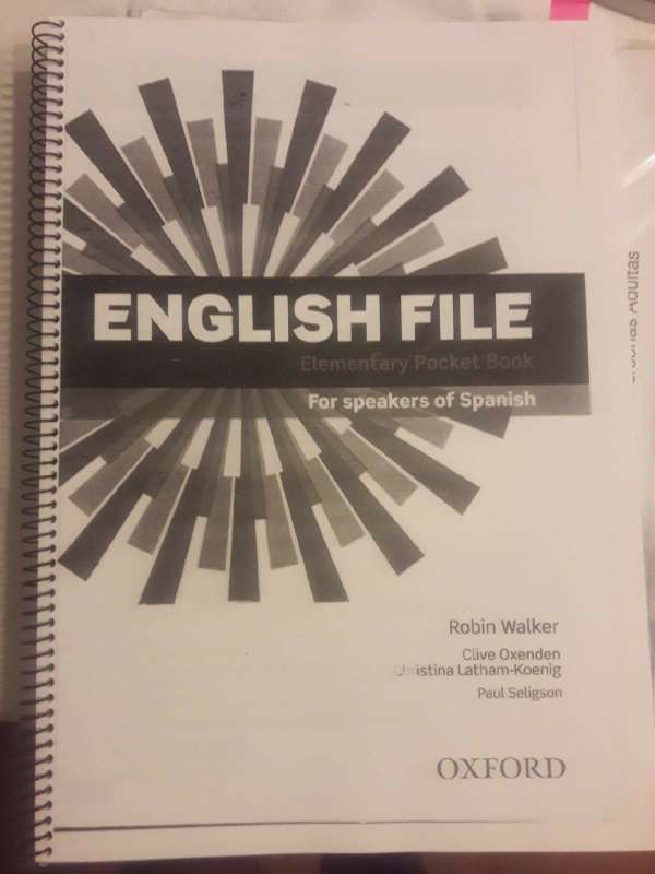 Imagen producto Libro English File Elementary 3