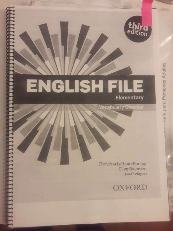 Imagen producto Libro English File Elementary 4