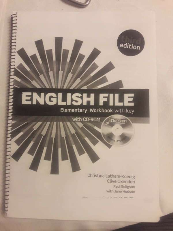 Imagen producto Libro English File Elementary 2