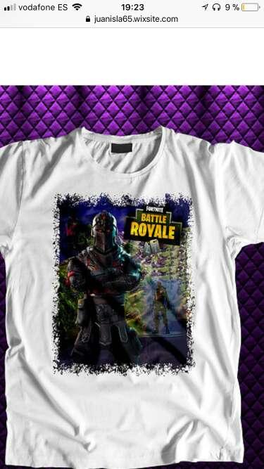 Imagen producto Camisetas fortnite 3