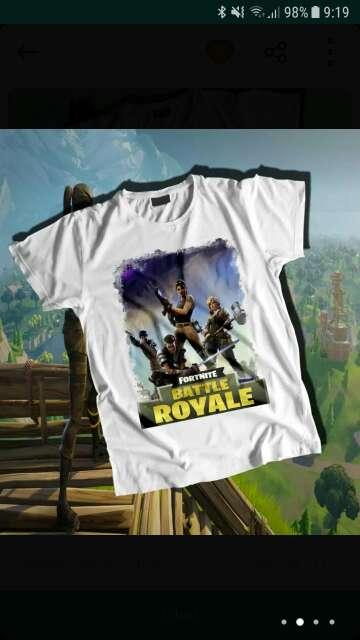 Imagen producto Camisetas fortnite 2