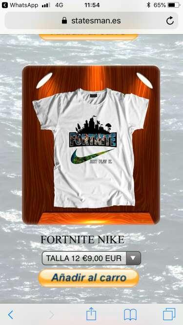 Imagen producto Camisetas fortnite 4