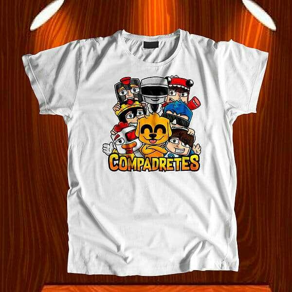 Imagen producto Camisetas compadretes 1