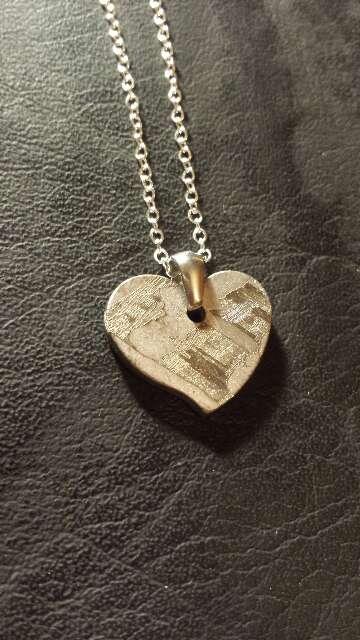 Imagen producto Meteorito Seymchan corazón  2