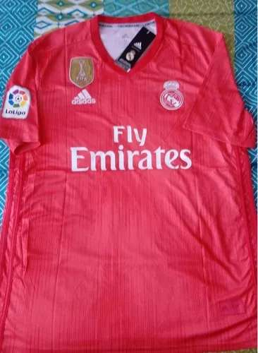Imagen producto Camisetas Real Madrid 2019 coral  1