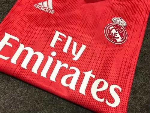 Imagen producto Camisetas Real Madrid 2019 coral  2