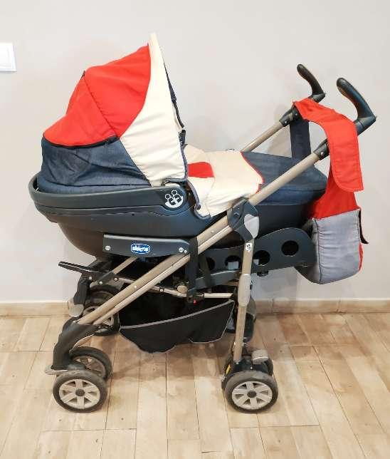 Imagen producto Trío Chicco bebé (Maxicosi + silla paseo + capazo) 2
