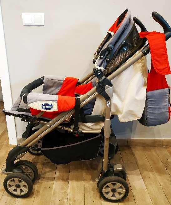 Imagen producto Trío Chicco bebé (Maxicosi + silla paseo + capazo) 8