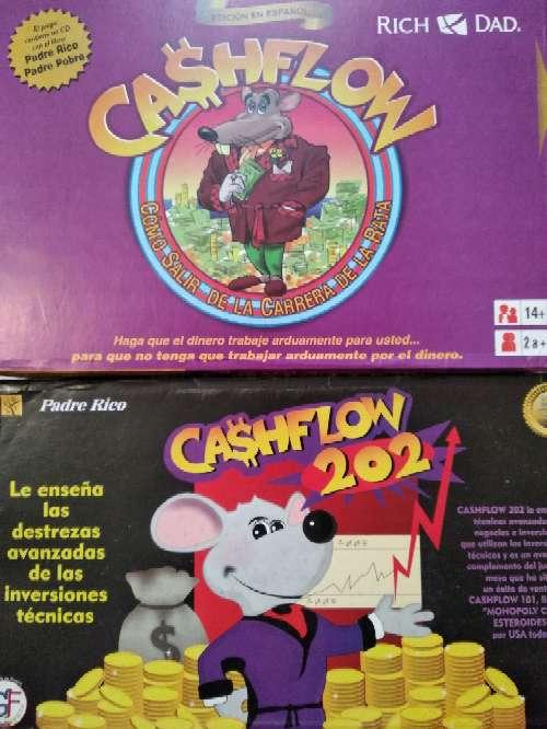 Imagen Cashflow101+cashflow202+egame español
