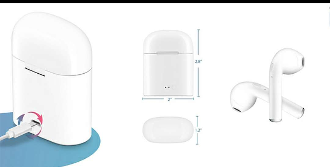 Imagen producto Auriculares inalámbricos Bluetooth Wireless 2