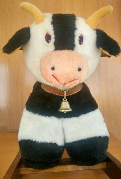 Imagen producto Balancín Vaca de madera 3