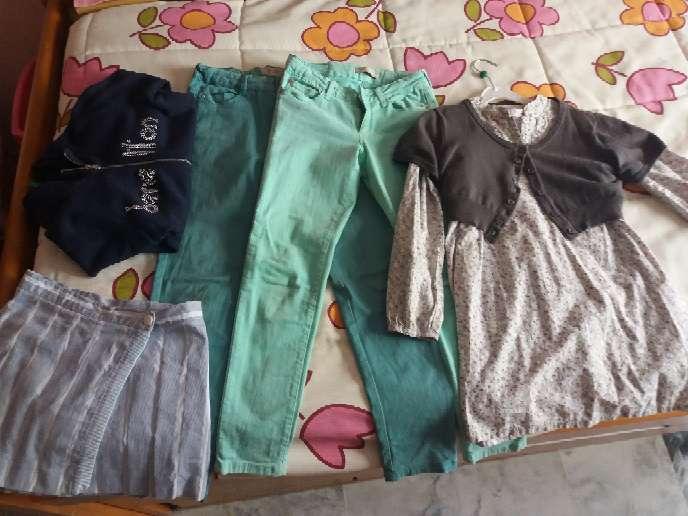 Imagen Lote ropa niña talla 5/ 8 años
