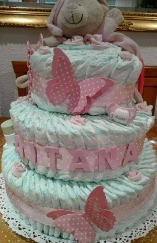 Imagen pastel de pañales