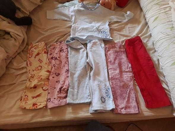 Imagen pantalones largos de 1 y 2 años y camiseta de manga larga ( leer el anuncio )