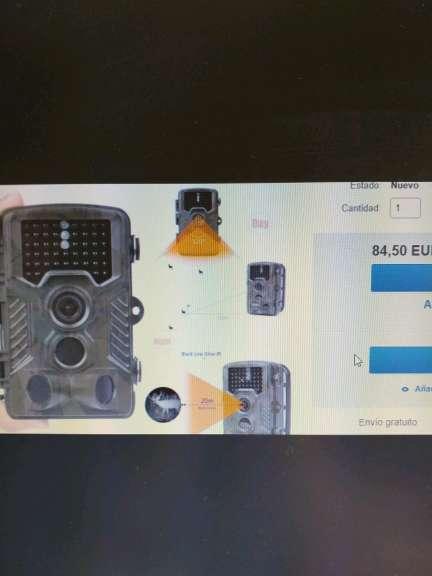 Imagen producto Cámara de caza inflarojos 16MP 1080P-20metr. 7