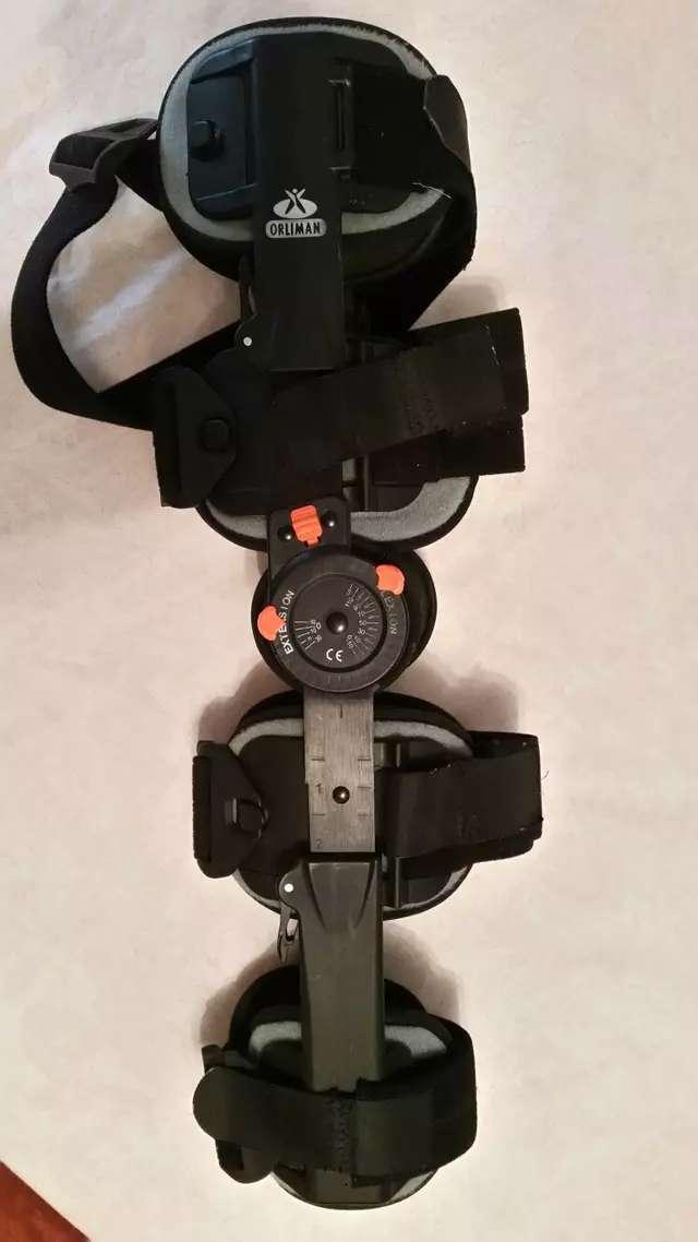 Imagen producto Ferula articulada para rodilla marca orliman ajustable 4