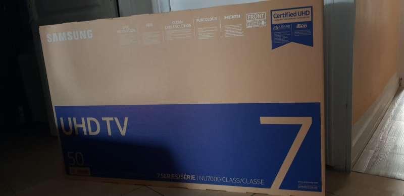 Imagen televisión Samsung 50